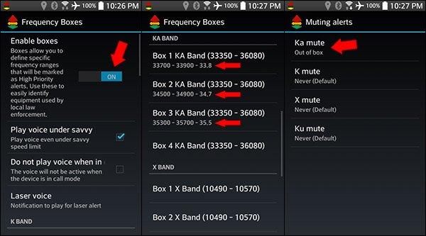 Valentine One Programming: YaV1 boxes mute Cobras