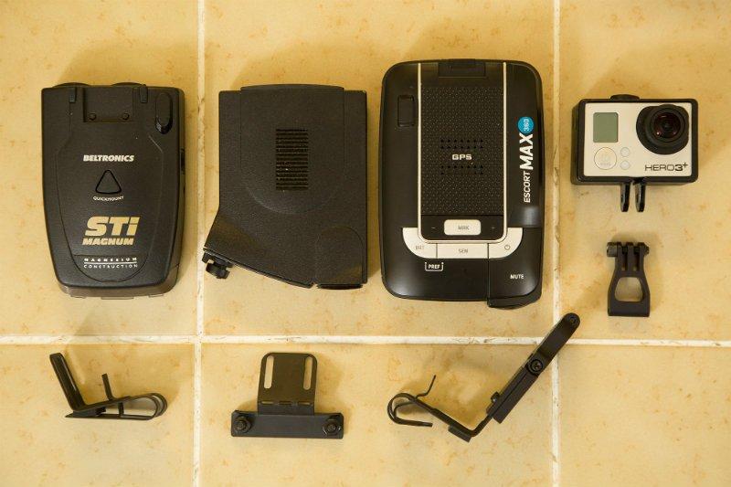 Blendmount and radar detectors