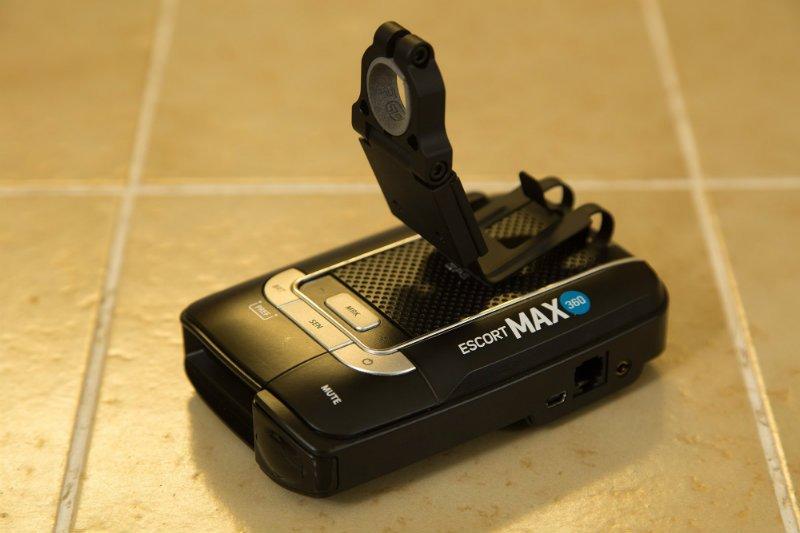 Blendmount on Escort Max360
