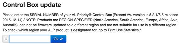 Control Box update