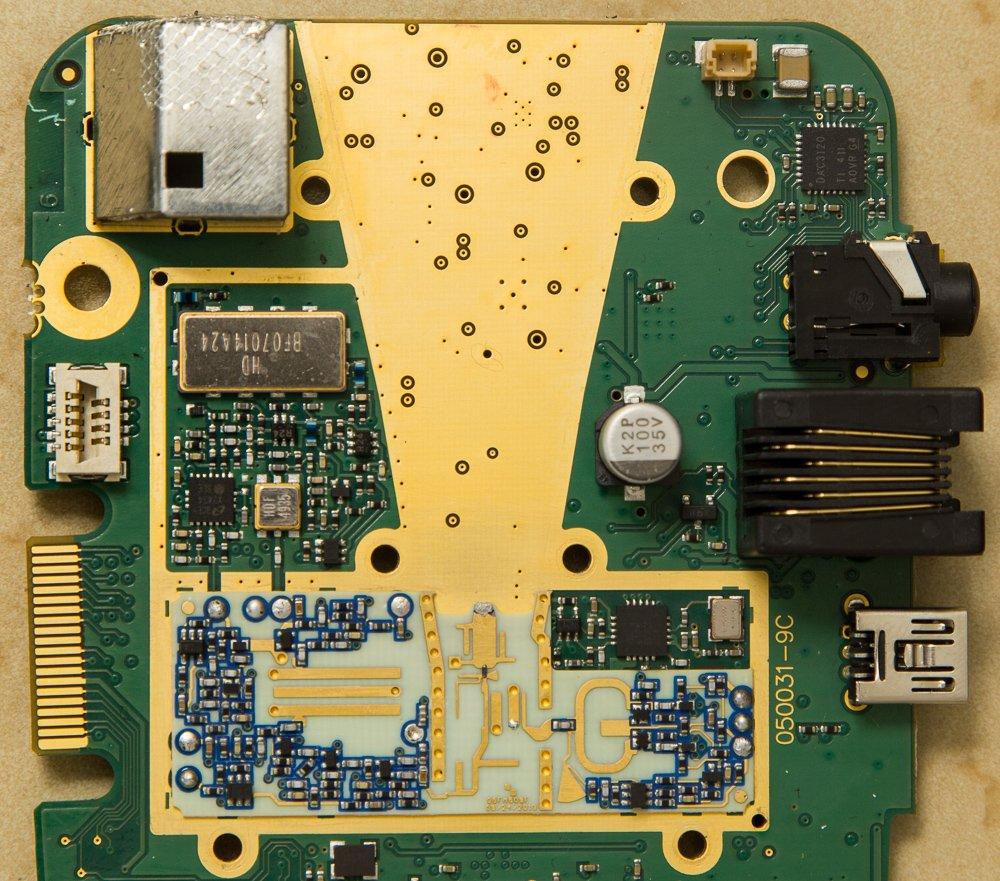 Max2 RF circuitry