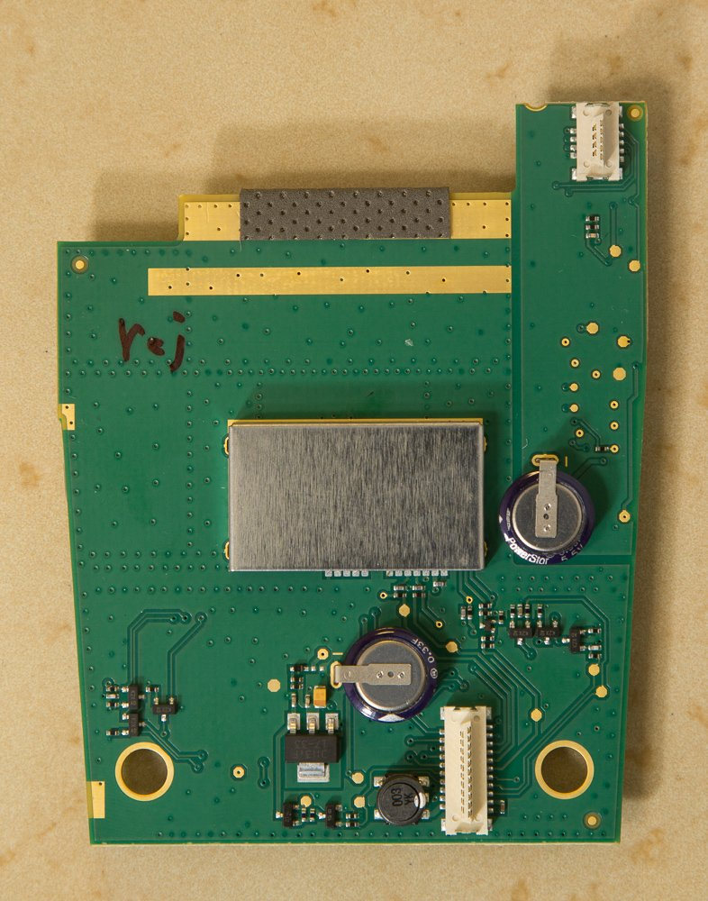 Max2 secondary PCB rear