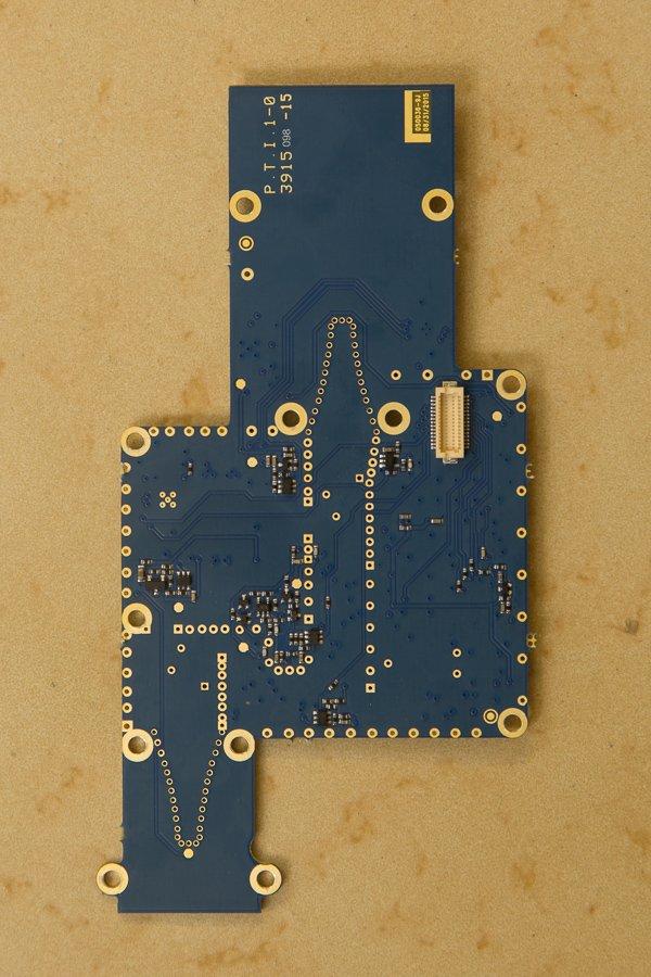 Max360 RF board rear
