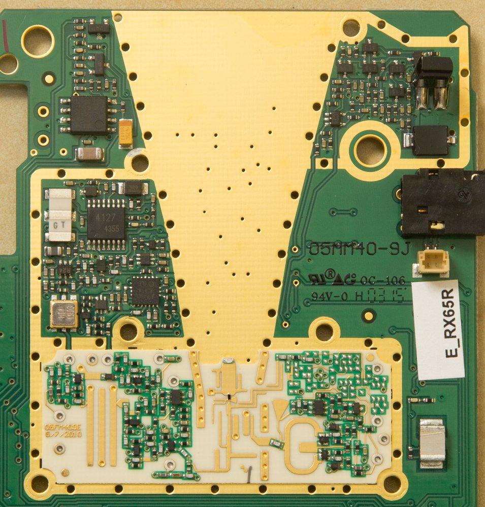 RX65 M4 RF Circuitry