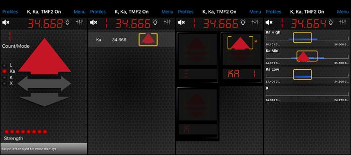 V1 display options