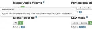 ALP settings blue question mark popup