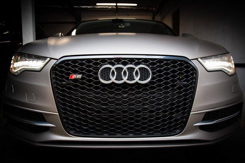 Audi S6 dual head setup