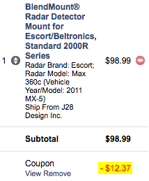 Blendmount Coupon Code