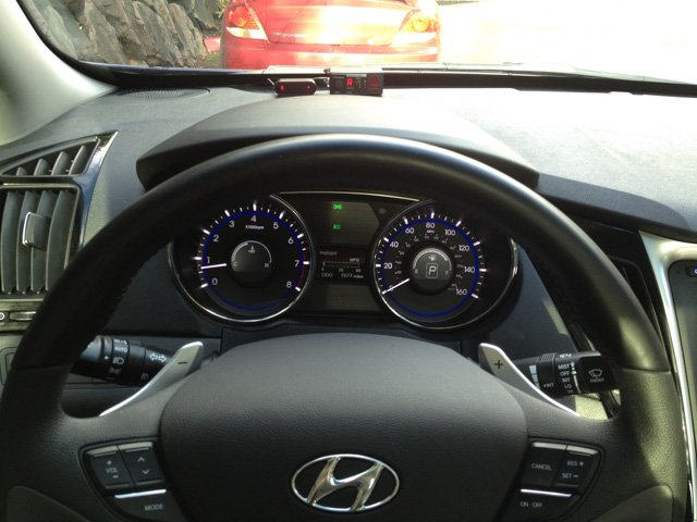 STi-R Plus and V1 CD displays in my Sonata