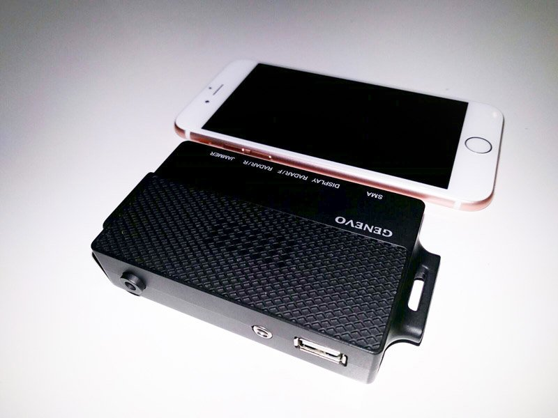Radenso HD+ CPU rear