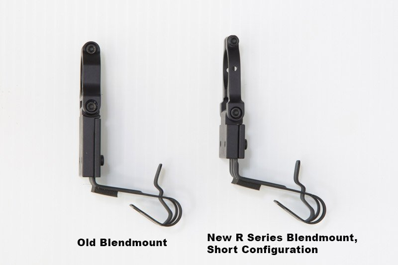 Old and New Blendmounts Short