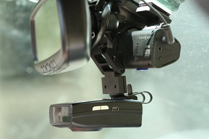 RPSE on long Blendmount R Series with dashcam