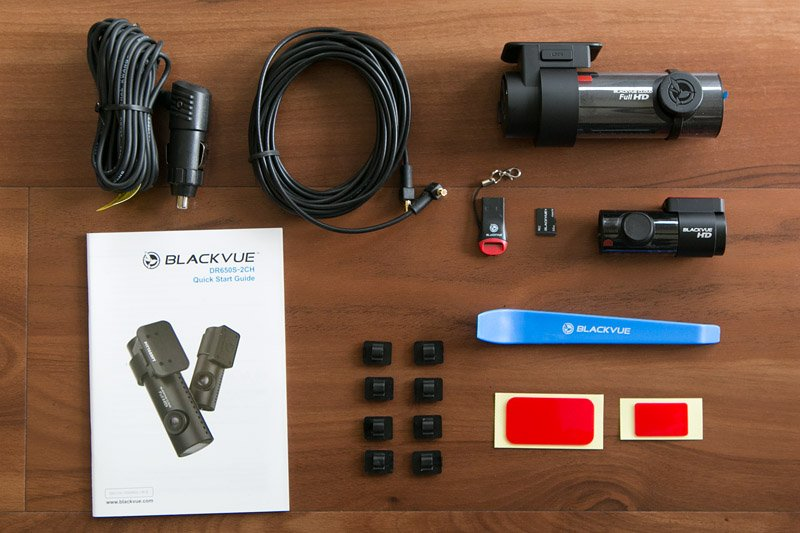 Blackvue DR650S-2CH Review: Dashcam Components Included