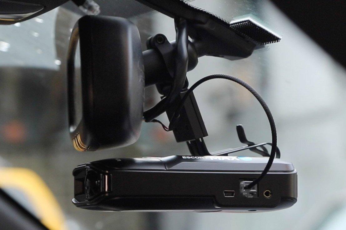 Max360 on Blendmount with Mirrortap 1080p blendmount review best rvm radar detector mount vortex radar BlendMount Radar Detector Mount at creativeand.co