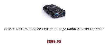 Uniden R3 purchase