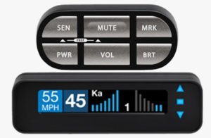 Escort Max Ci 360 remote radar detector and laser jammer