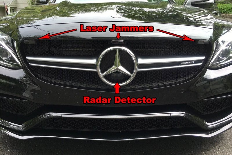 Where And How To Mount Your Radar Detector For The Best