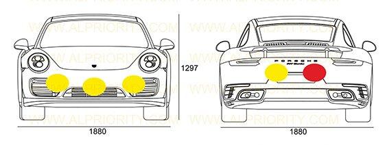 ALP Tx Sensor Placement Porsche 911