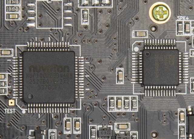 Uniden R1 and R3 nuvoton chip