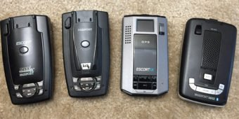 Escort 9500ix, S75G, iX, and Max2