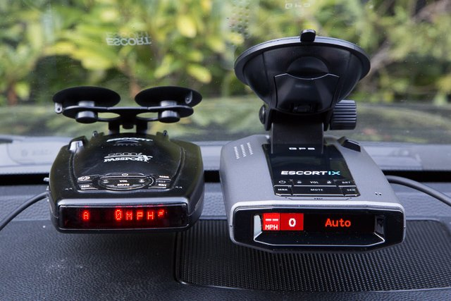 escort ix radar detector review