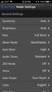 How to Program the Escort iX: Escort Live settings