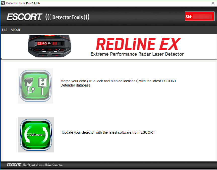 Updating the Escort Redline EX with Detector Tools Pro
