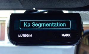 R3 displaying Ka Segmentation