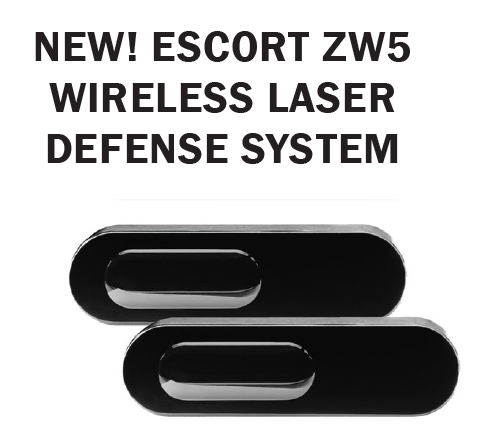 Escort ZW5 Wireless Laser Shifters