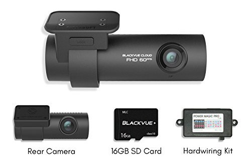 Blackvue DR750S-2CH Review Dashcam with PMP and 16gb MicroSD card