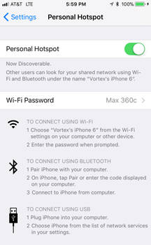 Escort Max360c Review WiFi Tethering iOS