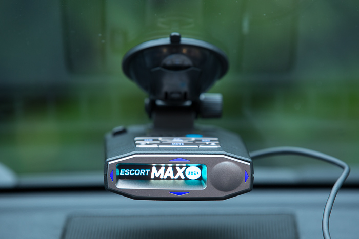 Escort Max 360c Review: Detector with arrows