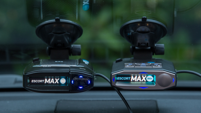 Escort Max360 and Max360c with arrows