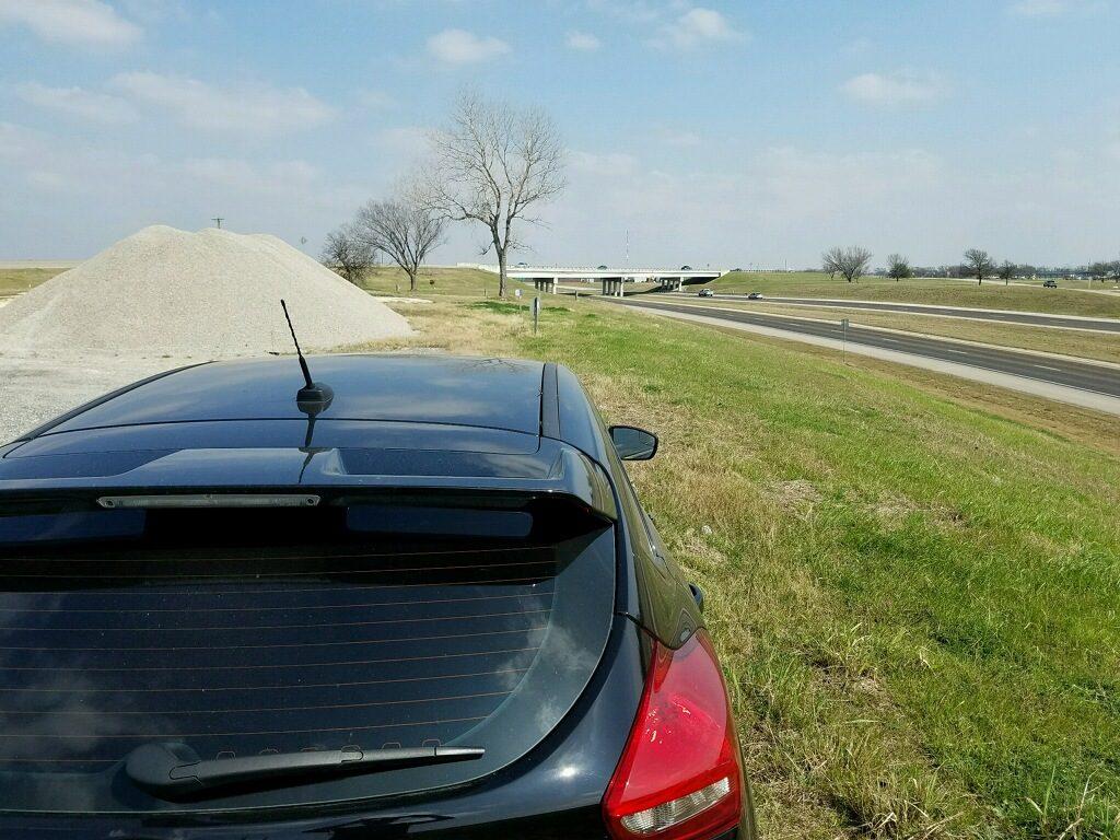 Cobra radar detector test radar car setup