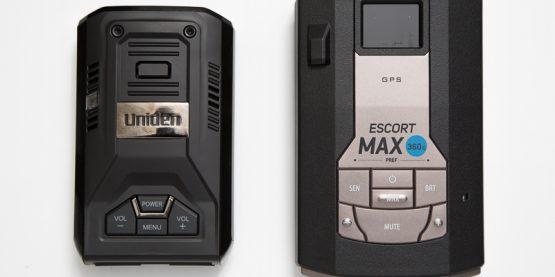 Uniden R3 and Escort Max 360c radar detectors