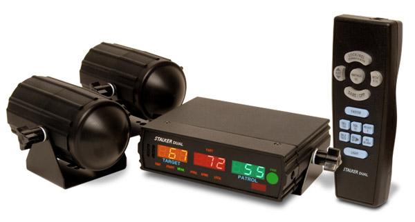 Stalker Dual police radar gun