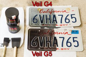 Veil G4 & G5 plates painted