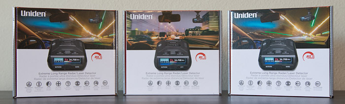 Radar Detector Giveaway: Uniden R1 and R3's