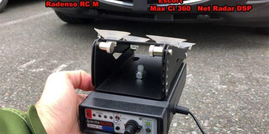 Spectre Elite vs. Remotes in grill: Stinger VIP, Radenso RC M, Escort Max Ci 360, Net Radar DSP