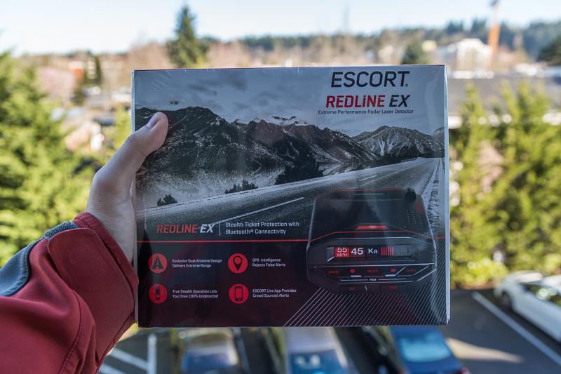 Escort Redline EX radar detector giveaway