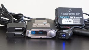 Escort ZW5 wireless shifters and Max 360c radar detector