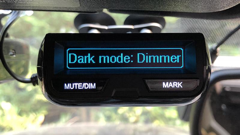 R3 Dark Mode dimmer brightness level