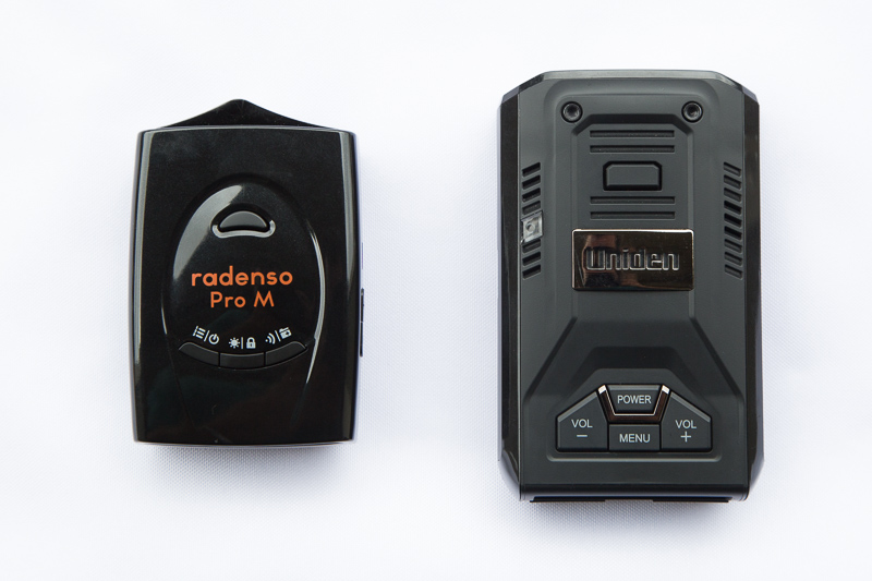 Radenso Pro M and Uniden R3