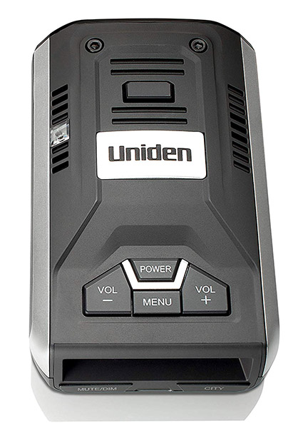 Uniden R1 in silver