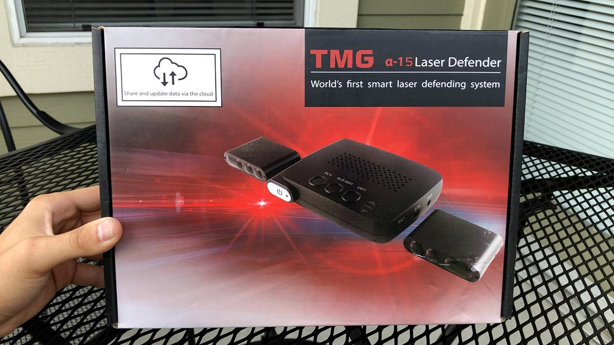 Passport Radar Detector >> TMG Alpha-15 Laser Jammers: First Look & Initial ...
