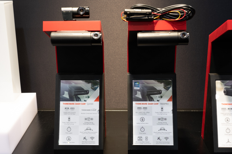 Thinkware QA100 and Thinkware F800 Pro