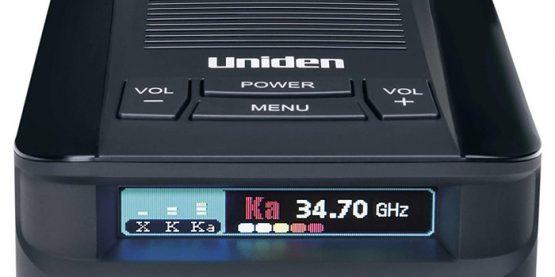 Uniden DFR9 buttons
