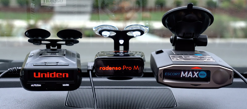 Products featured in my best radar detector product reviews