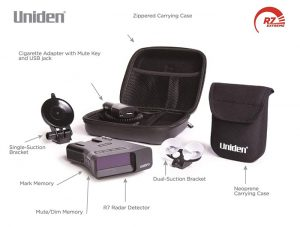 Purchase a Uniden R7 with accessories