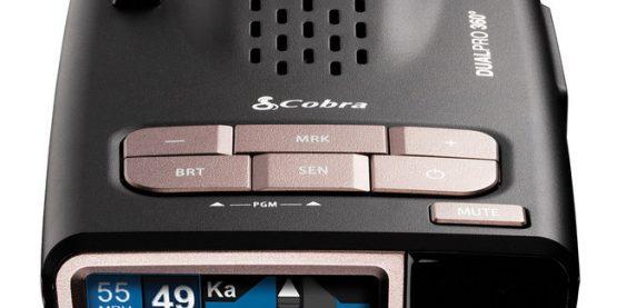 Cobra DualPro 360 radar detector